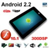 "4GB VIA 8650 Android Market 7"" Android 2.2 Tablet PC+Camera+WiFi+G-sensor+ RJ45 MID PDA Support Flash Dropad M009 VM8650"