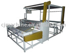 Shoes material hot melt adhering machine