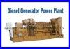 Diesel Generator Power Plant