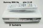 New DVB Sunary 800SE SR4 With Triple Tuner