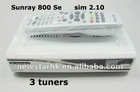 New DVB Sunary 800SE SR4 With Triple Tuner
