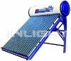 Working Principle of Copper Coil Solar Water Heater