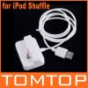 USB Charger Charging Dock Cable For iPod Shuffle 1G/2GB, Wholesale
