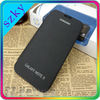 Real leather case for Galaxy Note2