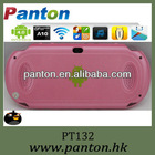 Android Pink game tablet 4.3 inch mp5 game player