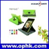 2012 Latest PU Case for Google Nexus 7 in 360 Degree Rotation and Folio with Smart-Cover