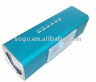 mini sound box speaker with FM radio