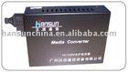 Single fiber singl mode 100M media converter 1310/1550nm