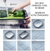 stainless steel kitchen sink basket strainer FACTORY SALE