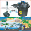 Hot sale farm pond filters,fish pressurized pond filter with UVC