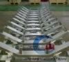 China Belt Conveyor Roller Frame Manufacture