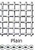 ss wire plain weave mesh