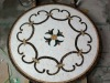 Table marble stone mosaic