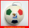 Advertising 63mm Football Shape PU Foam Stress Ball