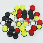 wholesale colors single saddle with o ring Acrylic ear plug