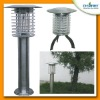 Outdoor 0.3 Watts UV solar powered garden lamp mosquito killer machine