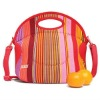 Fashion colorful overall printing insulated lunch bag