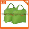 novelty pure color tote zippered lunch bag