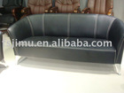 PU PVC sofa synthetic leather office 3-seater