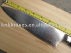 top quality luxury japanese damascus steel chef knife