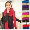 Plain cotton scarf