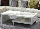 Modern white high gloss tea & coffee table (G-HG01)