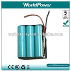 18650 11.1V 2200mah li-ion battery batterien batterijen accu akku pack with BMS