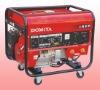 gasoline engine powered welder and generator two usage machine