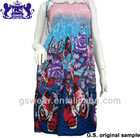 2013 new fashion polyester chiffon ,ladies beach skirt ,casual skirt#GS122604