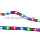 Top sell ,holiday lighting ,SMD3528 60pcs/m non waterproof 12v/24v RGB led flexible strip from onegreen lighting