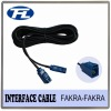 Adapter cable with Fakra female straight connector and RG174