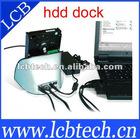 E-SATA+USB 2.0 HDD Dock,2.5' 3.5' sata hdd storage box