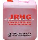 High wash and wax foam shampoo