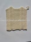 Supply Handmade Crochet Cotton Square Cup Mat ( 7006)