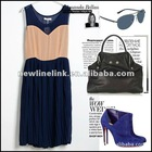 sleeveless fashion dress