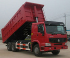 China dump truck 25ton HOWO tipper ZZ3257M3247