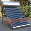 Stainless steel solar water heater