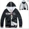 Custom windbreaker hoodie sports reversible jacket,100% cotton warm jacket/men sport blazer jacket/men cotton long sleeve jacket