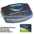 USB Network Server,Adapter NAS Server FTP UPnP BT/HD Transformer Box,Usb Network Print Server