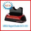 HOT USB3.0 to SATA 2.5'/3.5'HDD Docking