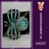 Butterfly crystal bangle with blue rhinestone and fashion designs available