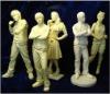 clay figures model