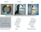 European type IC/Mifare card Hotel Lock system with card mass production in china(DH-8503JN)