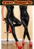 newest dance wear leather lingerie w6016