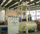 plastic heating/cooling mixing unit