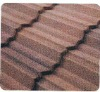 colorful stone coated metal types of roof tiles(factory)