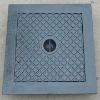 Light duty EN124 A15 ductile iron manhole cover
