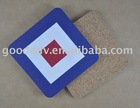 Promotion gifts cork beer mat
