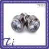 wholesale high quality jewelries titanium stud earring for girls