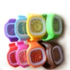 health sports energy silicone ion bracelet watch